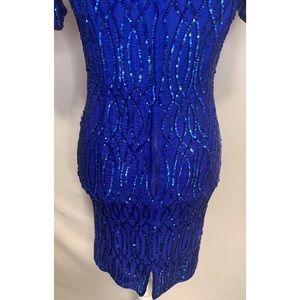 Stenay Dresses - Stenay vintage silk beaded dress size 4